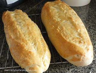 Crusty Italian bread. Start with 3 cups flour
