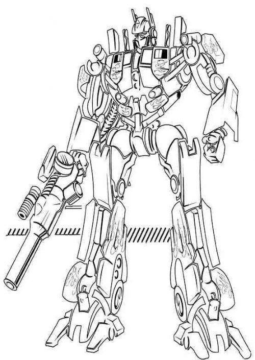 Ausmalbilder Transformers Kinder Für Malvorlagen in 2020