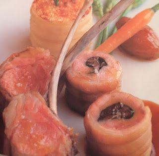 LE GUSTOSE RICETTE  DI NONNA MARIA: Agnello con tortino di patate al rosmarino