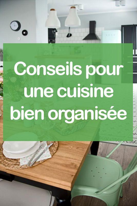 Best Meuble De Cuisine Images On Pinterest Furniture And Centre - Comment organiser sa cuisine