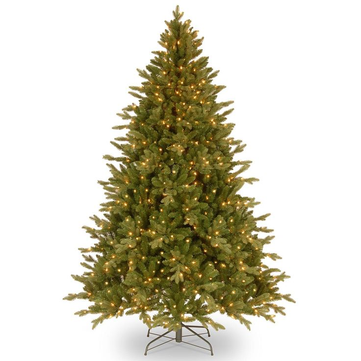 6ft Pre-lit Avalon Spruce Feel-Real Artificial Christmas Tree