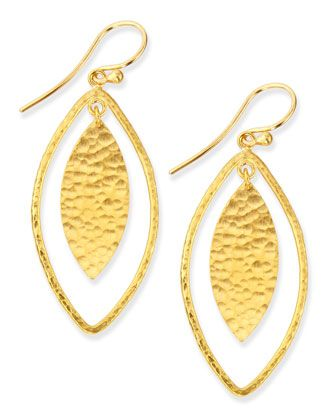 Willow+Geo+Marquise+Drop+Earrings+by+Gurhan+at+Neiman+Marcus.
