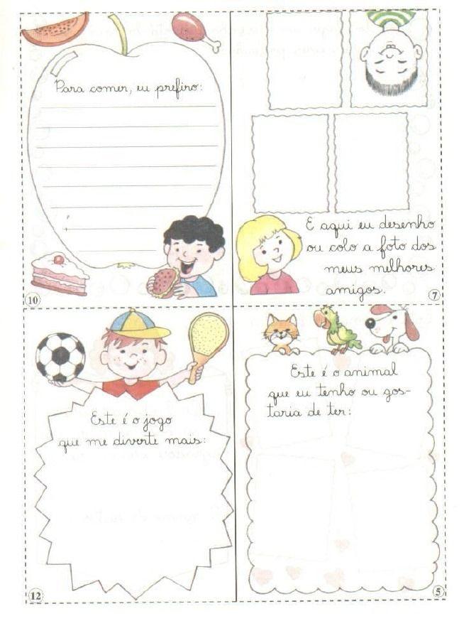 Educacao Infantil Projeto Quem Sou Eu Educacao Infantil Educacao Identidade E Autonomia