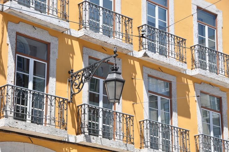 windows and lamp