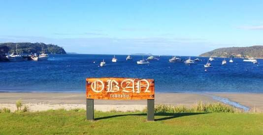 My first holiday ever was to Oban, New Zealand.