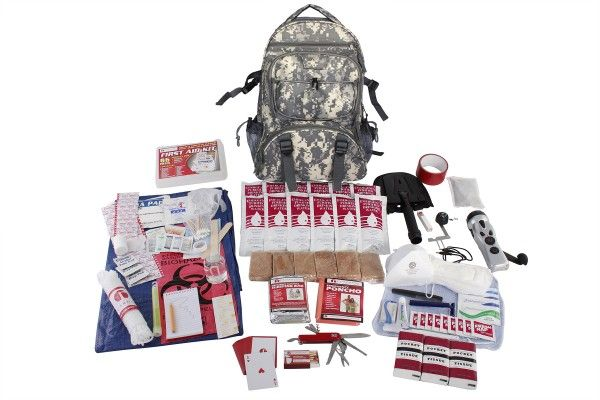 $119.99 | Hunting Survival Kit | Wise Food Storage | This survival kit was designed using advice from experts in the emergency preparedness and hunting industry. It follows guidelines given by government agencies and non-profit preparedness organizations.  #Hanukkah #Christmas #holiday #gag #joke #gift #college #student #meat #rice #apocalypse #dehydrated  #doomsday #dried #eat #emergency #freeze #meals #MRE #preparedness  #rations #riots #storage #supplies #survival #zombie