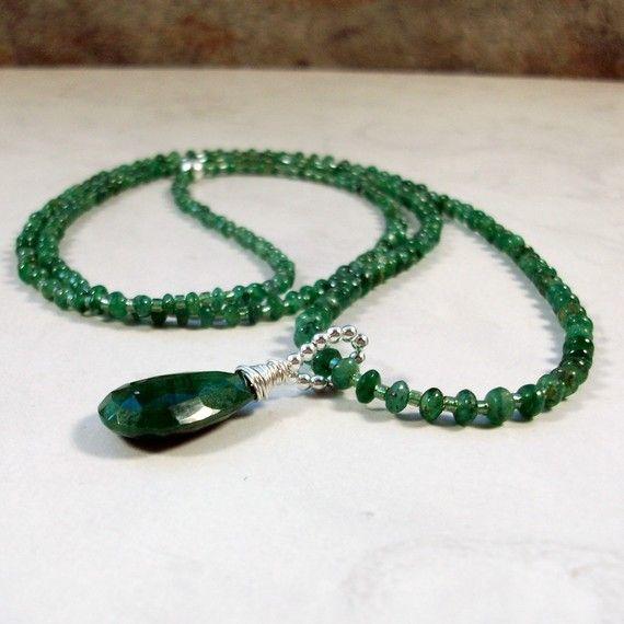 Fine Genuine Emerald Healing Crystal OOAK by balancingcrystals,