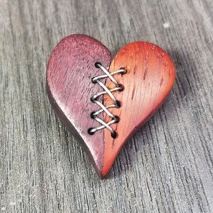 Stiched heart