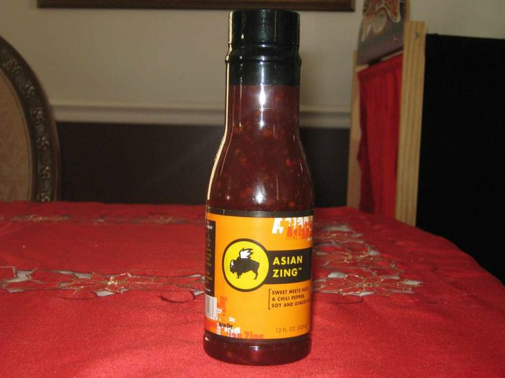 Asian Zing Wing Sauce