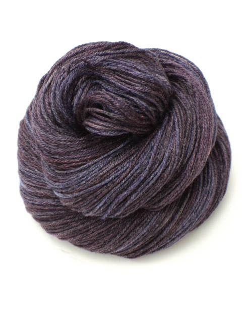 Purple Toes, Hand Painted, Hand Dyed, Sock, Yarn, Purple, Black by sunriselodgefiberstu on Etsy