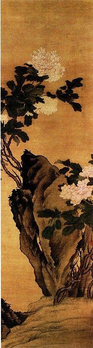 Китайские художники средних веков: Fan Qi [樊圻 - 牡丹图]