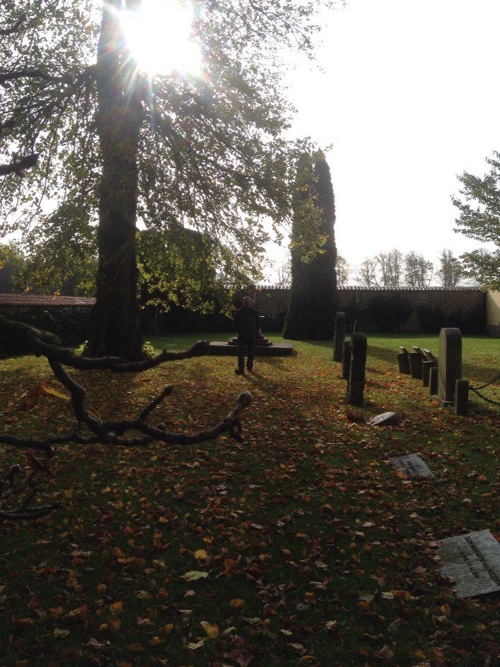 Kirkegården ved Vallø Slot