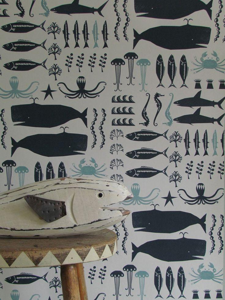 wallpaper swimming in the sea | YSD London