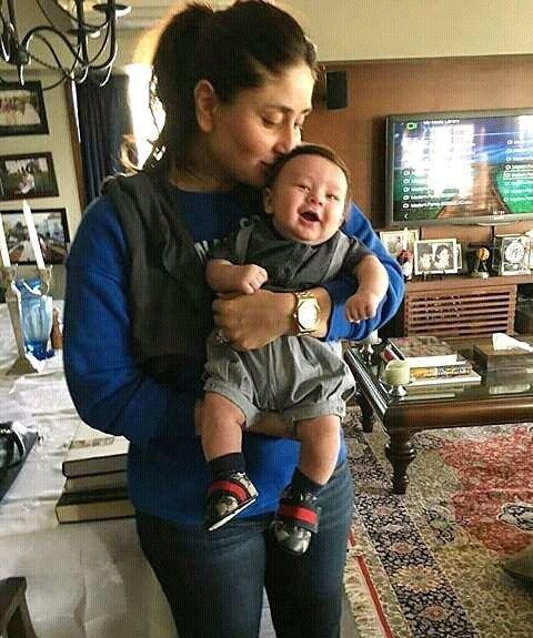 "91.8k Likes, 1,277 Comments - Kareena Kapoor Khan (@therealkareenakapoor) on Instagram: ""Baby boy """