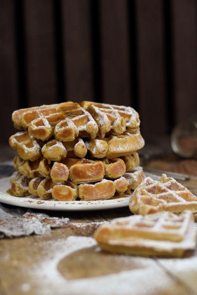 Grundrezept Joghurtwaffeln & Erdnussbutter Joghurt Waffeln – Peanut Butter Yogurt Waffles