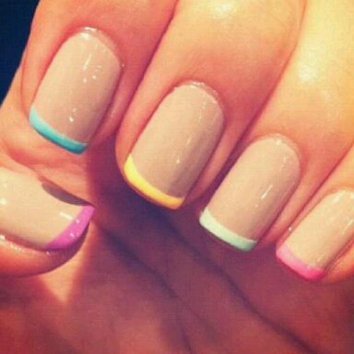 Multicolor Nail Tips