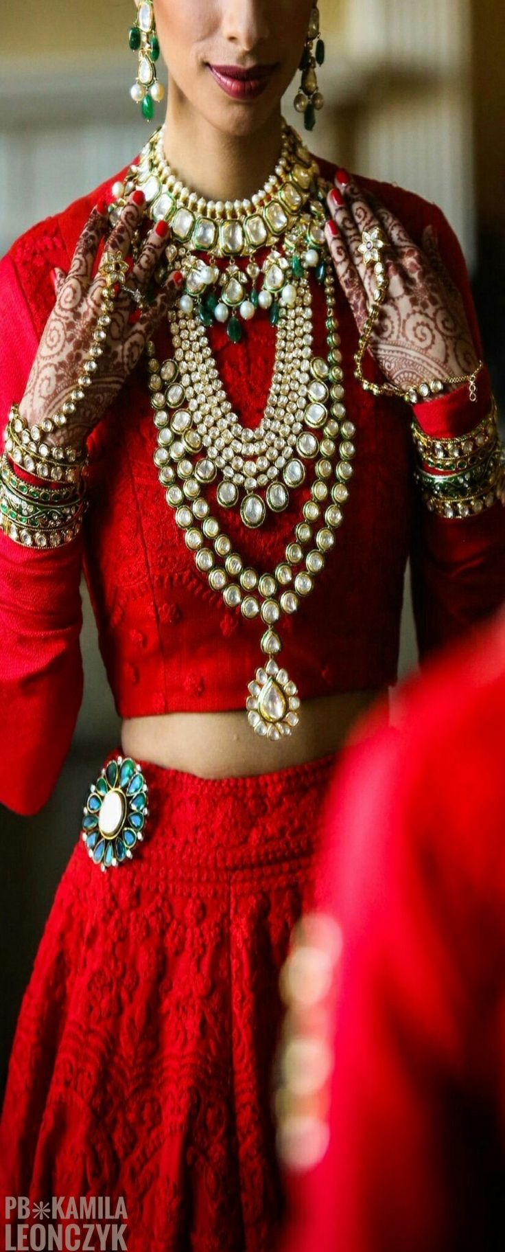Traditional Indian Wedding - The Bride's Wedding Day Jewelry