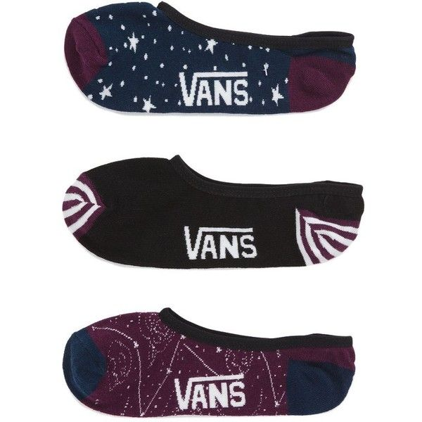 e3296e7086 Vans Constellation Canoodle Socks 3 Pack ($15) ❤ liked on Polyvore ...