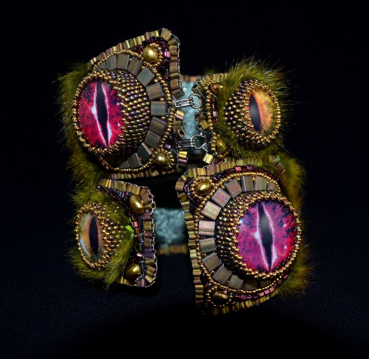 346 best Eye Jewelry images on Pinterest Beaded embroidery