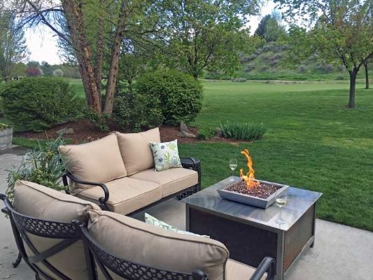 impact fire table from around the usa modern industrial design outdoor natural gas or