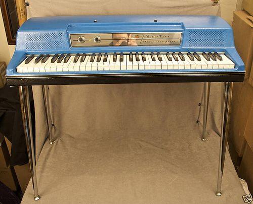 Wurlitzer 200 Electric Piano Blue