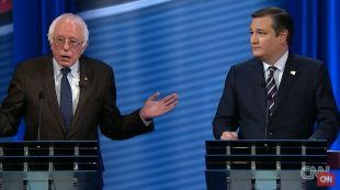 5 Times Bernie Sanders Mopped the Floor with Ted Cruz During Their CNN Debate | Alternet