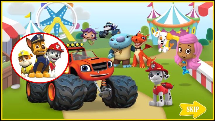Nickelodeon Games to play online 2017 ♫  Paw Patrol Games-Nick JR Carnival Creations ♫ Kids Games