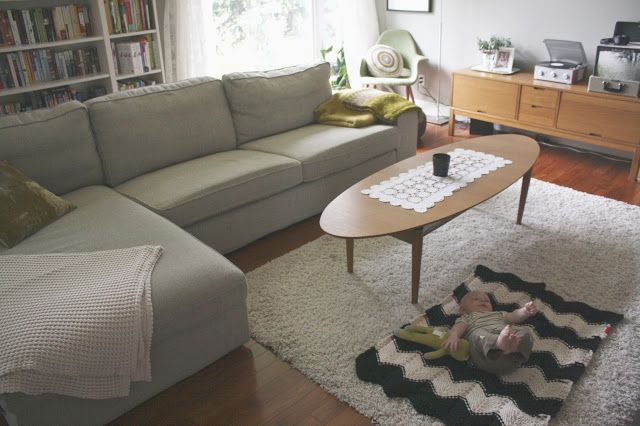 Couch Ikea Kivik In Teno Light Grey Living Room