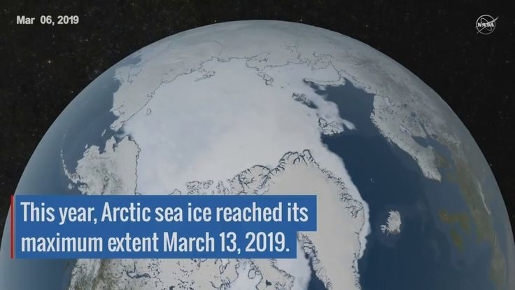 Nasa Works Arctic Sea Ice Grows And Shrinks With The Seasons Sea