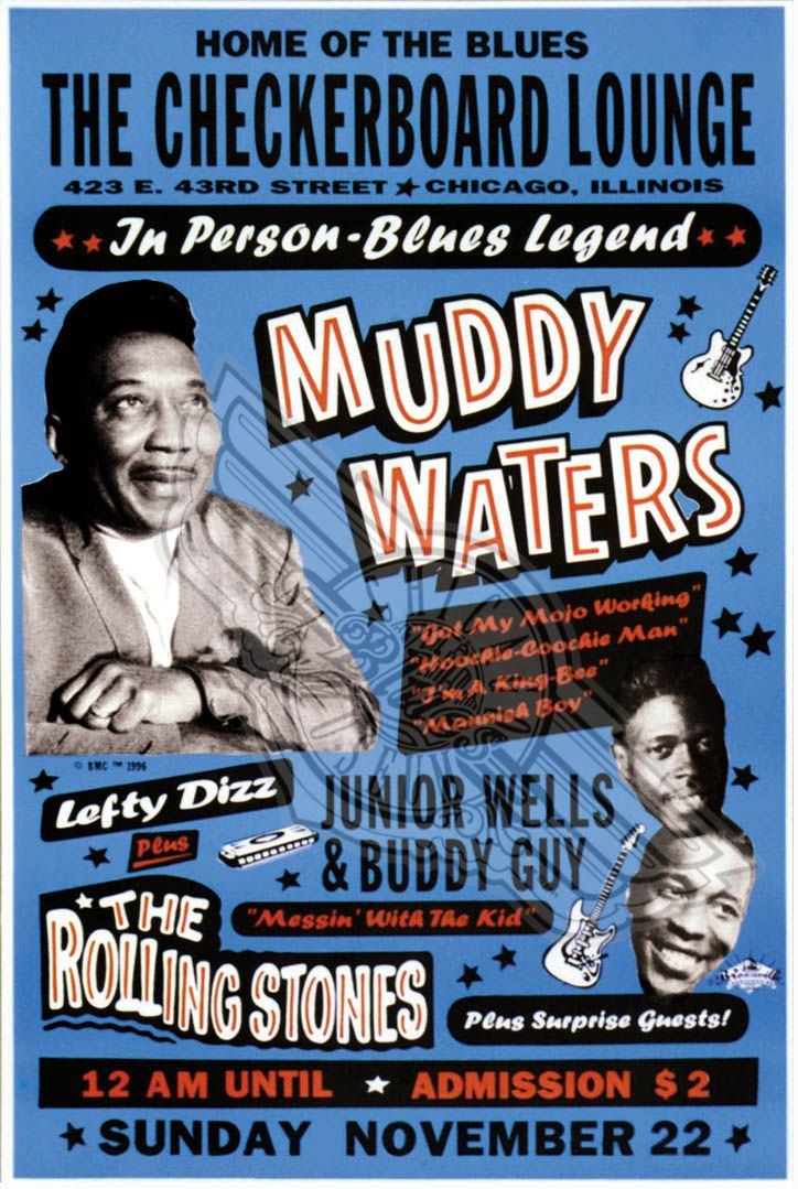 Muddy Waters and the Rolling Stones at the Checkerboard Lounge