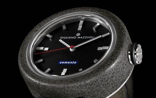 nice De Cemento is het eerste horloge van cement