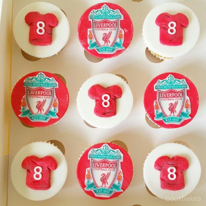 Liverpool Football Club cupcakes
