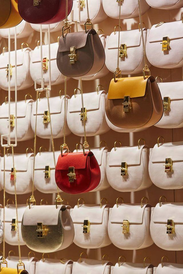 """SELFRIDGES, London, UK, """"Introducing the Drew from Chloé', project by Chameleon VIsual Ltd., London, UK, pinned by Ton van der Veer"""