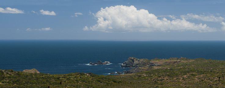 Vista al mar desde el condominio www.rocasdelmar.cl