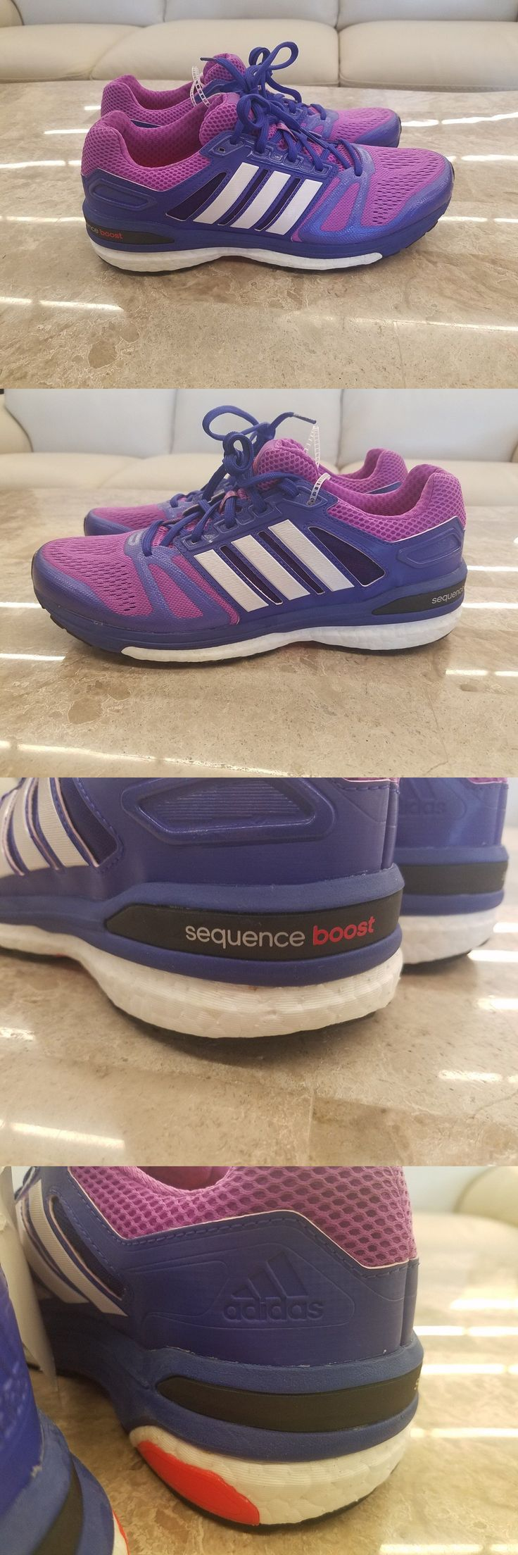 Athletic 95672: New Adidas Supernova Sequence 7 Boost Women S Running Shoes Purple Sizes -> BUY IT NOW ONLY: $49.99 on eBay!