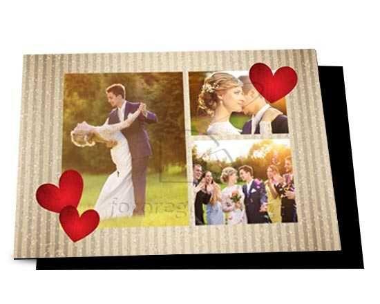 Un collage amorevole per il tuo magnete gigante