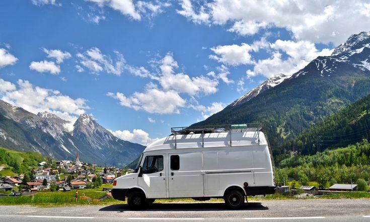 The white van man who upcycled his white van into a studio flat