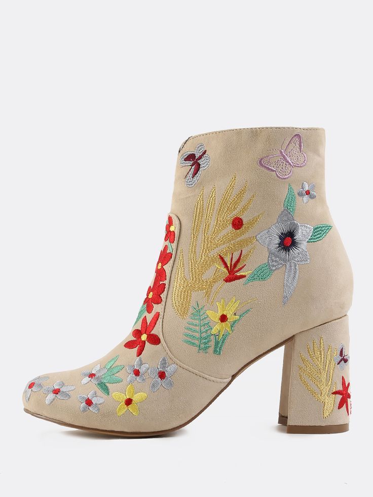 17 best ideas about Floral Ankle Boots on Pinterest | Floral ...