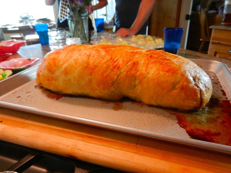 "Gordon Ramsey's Beef Wellington Recipe                           ""Done"""