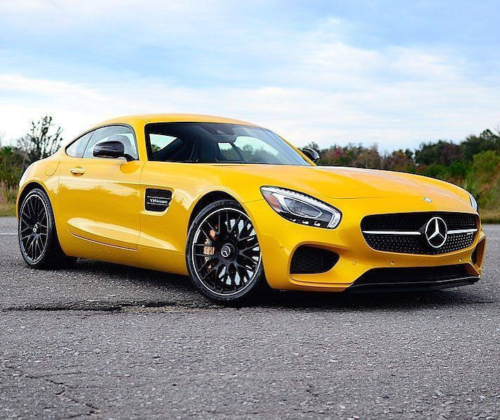 FOR SALE PRICE: $125,000 - TEXT (424) 256-6861 •2017 Mercedes AMG GTS •Black and Carbon Fiber Interior •AMG Solar Beam Yellow Paint •2,150 Miles •Location: Southern California