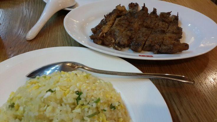 Nasi goreng iga babi goreng at Din Tai Fung, Mal Puri Indah