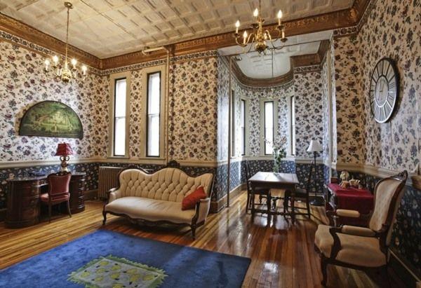 salle de séjour de style victorien
