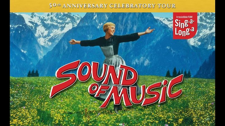 Following the celebration of the movie's 50th anniversary in 2015, we move into it's second half century with a return of the smash-hit musical to the UK.  Yes, the original Sing-a-long-a is back!  For those of you not yet converted, Sing-a-Long-a Sound of Music is a screening of the classic Julie Andrews film musical in glorious, full-screen Technicolor, complete with lyric subtitles so that the whole audience can sing along.  The evening begins with your host leading a vocal warm-up, judgi