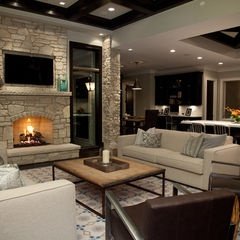 Especially love the coffee table.