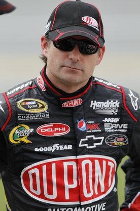 NASCAR Talladega Auto Racing...Jeff Gordon has come along way in his Career!!!