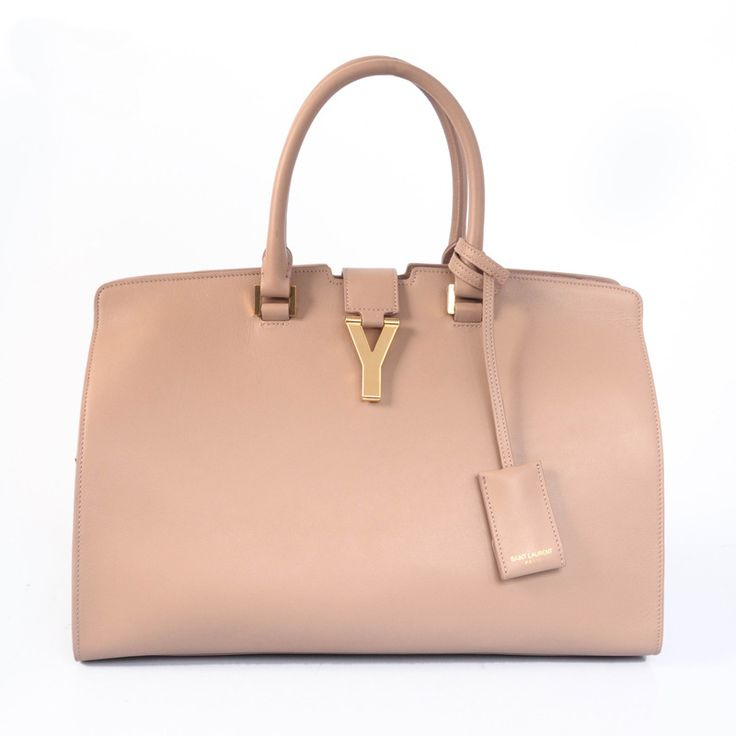 Yves Saint Laurent 2013 Medium Cabas Chyc Bag 8337 Camel This ...