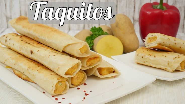 Taquitos mit Kartoffelfüllung I How to make Potato Cheese Taquitos