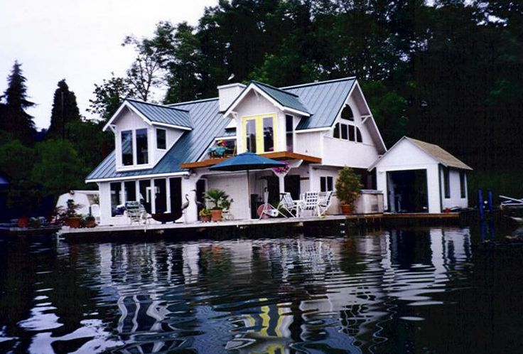 17 best images about floating homes on pinterest lakes for Floating homes portland