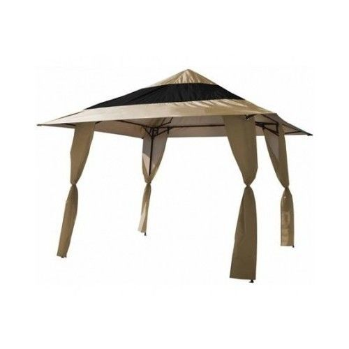 Outdoor Pop Up Canopy Gazebo Tent Frame 13 x13 Double Roof Patio Furniture Shade #EZUp