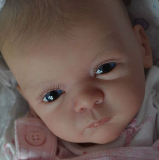 MARIAN ROSS Reborn Baby Girl Doll LINDEA Gudrun Legler Limited Edition #LindeaLimitedEditionGudrunLegler